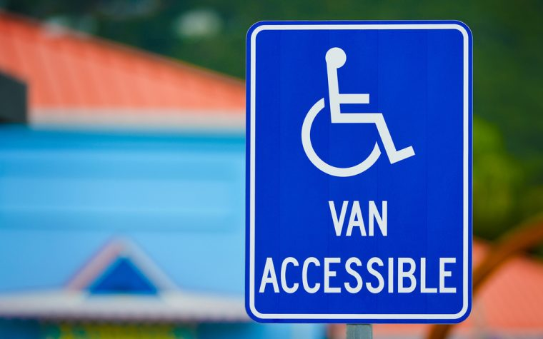 wheelchair-accessible van