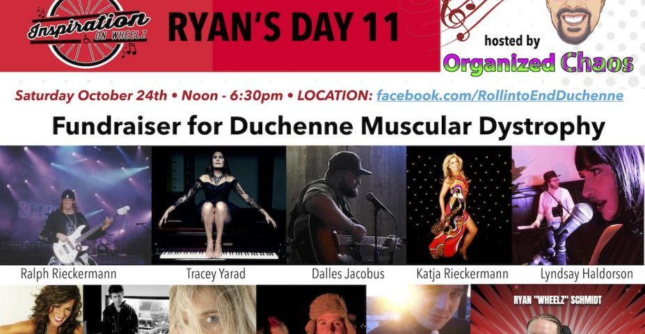Rapper Wheelz Hosts Oct. 24 'Ryan's Day' Virtual Fundraiser for DMD