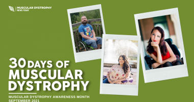 30 Days of MD | Muscular Dystrophy News | Reader submissions | 30 Days of MD graphic